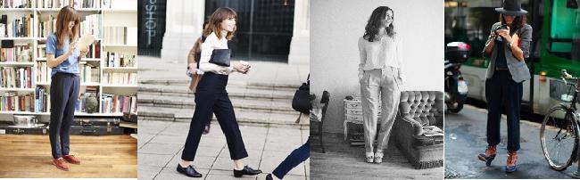 slacks modernos clasicos mujer pantalones oficina
