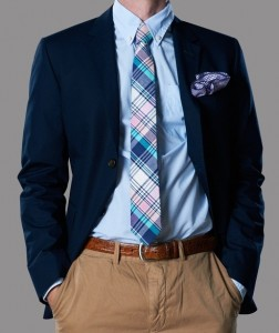 Madras Tie - Nice Office Wear
