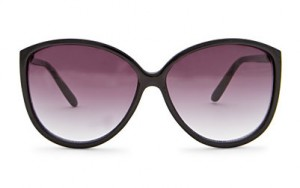 Mango Black Cateye Sunglasses