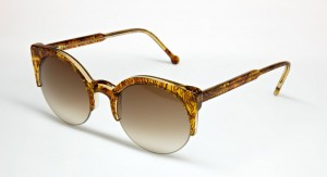 Retro Super Future Lucia Summer Safari Sunglasses