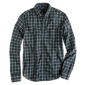 Tartan Shirt J Crew - Nice Office Wear