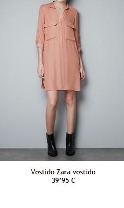 Vestido Zara vestido 39'95€