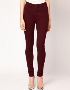 Pantalones Oxblood de ASOS