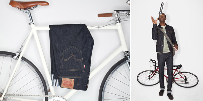 Levis Commuter jeans Bicycle Film Festival - Nice Office Wear